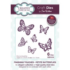 Finishing Touches - Petite Butterflies