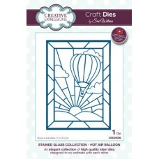 Stained Glass - Hot Air Balloon Die