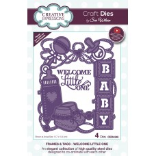 Frames & Tags - Welcome Little One