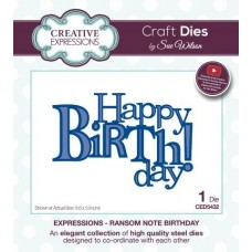 Expressions Collection - Ransom Note Birthday