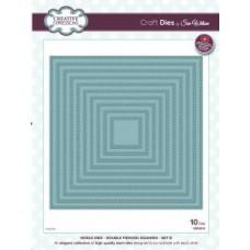 Noble - Double Pierced Squares - Set B