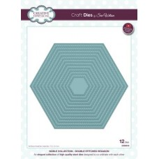 Noble - Double Stitched Hexagon Die