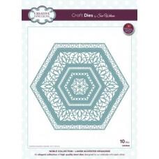 Noble - Lavish Accented Hexagons Die
