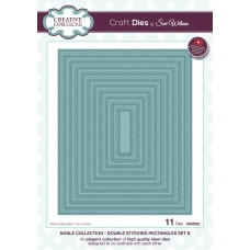 Noble - Double Stitched Rectangles Set B