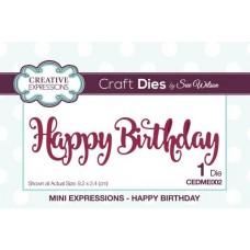 Mini Expressions - Happy Birthday