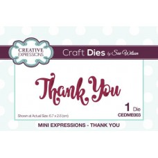 Mini Expressions - Thank You