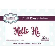 Mini Expressions - Hello & Hi