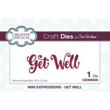 Mini Expressions - Get Well Die