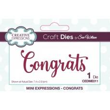 Mini Expressions - Congrats