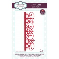 Festive Collection - Frosty Snowflake Border