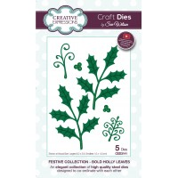 Festive Collection - Bold Holly Leaves
