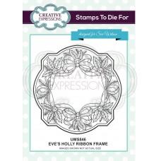 Eve's Holly Ribbon Frame
