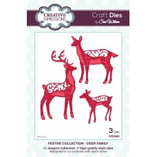 Festive Collection - Deer Family