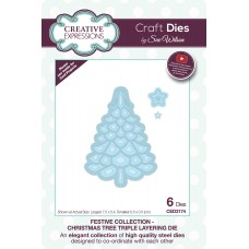 2019 Festive Collection - Christmas Tree Triple Layering Die