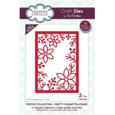 2019 Festive Collection - Pretty Poinsettia Frame