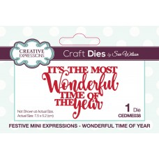 2019 Festive Collection - Mini Expressions - Wonderful Time Of Year