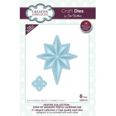 2019 Festive Collection - Star Of Wonder - Triple Layering Die