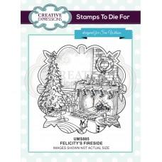 Felicitys's Fireside Pre Cut Stamp