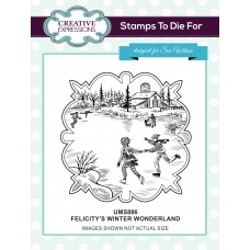 Felicitys's Winter Wonderland Pre Cut Stamp