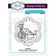 Marilynne's Lamplight Pre Cut Stamp - DISPATCHING WEDNESDAY 26th JUNE