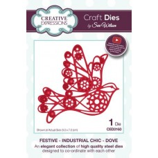 Festive Industrial Chic - Dove
