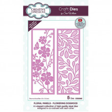 May Collection - Sue Wilson Floral Panels Dogwood Craft Die