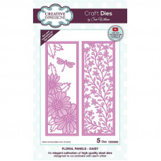 May Collection - Sue Wilson Floral Panels Daisy Craft Die