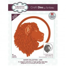 Sue Wilson - Safari Collection Dies - Lion