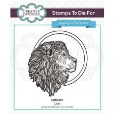 Sue Wilson - Safari Collection - Stamps To Die For - Lion