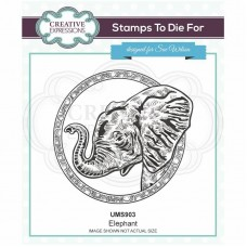 Sue Wilson - Safari Collection - Stamps To Die For - Elephant