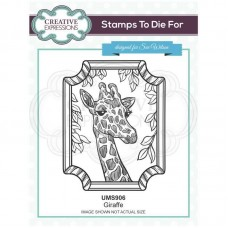 Sue Wilson - Safari Collection - Stamps To Die For - Giraffe