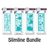 Sue Wilson Slimline Die Bundle