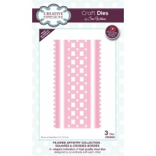 Filigree Artistry Collection - Squares & Crosses Border
