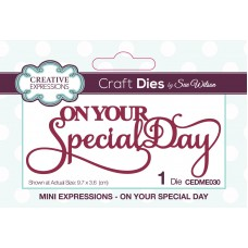 Mini Expressions - On Your Special Day
