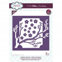 Sue Wilson Autumn Collection - Finishing Touches - Cherry Blossoms