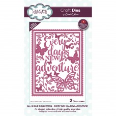 Sue Wilson Autumn Collection - All In One - Every Day Is A New Adventure