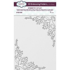 Creative Expressions 3D Embossing Folder - Symmetry In Play - DISPATCHING FRIDAY 25th SEPTEMBER