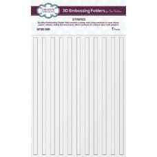 Creative Expressions 3D Embossing Folder - Stripes - DISPATCHING FRIDAY 25th SEPTEMBER