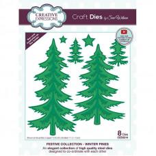 Sue Wilson - Winter Pines Craft Die