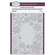 Sue Wilson - Snowflake Solitude Embossing Folder