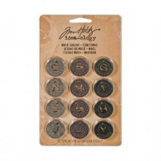 Tim Holtz Idea-ology Christmas Muse Tokens