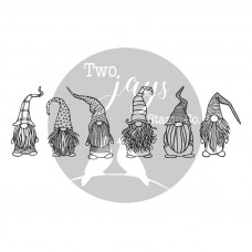Two Jays Clear Stamp - Gnomes