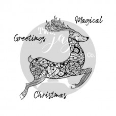 Two Jays Christmas Stamps - Leaping Stag