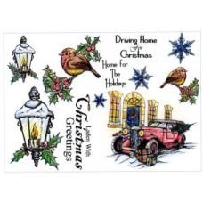 Umount Christmas Eve A5 Stamp Plate