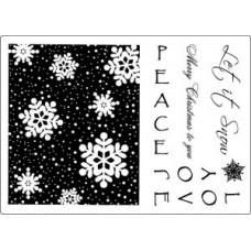 Umount Love & Joy at Christmas A5 Stamp Set