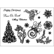 Umount Peace on Earth A5 Stamp Set