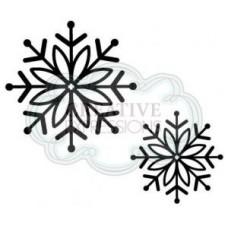 Bold Snowflake Set 2 Pre Cut Stamps