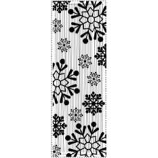 Vintage Snowflake Mini Striplet Pre Cut Stamp