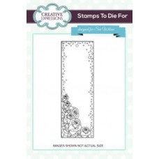 Rosebud Mini Striplet Pre Cut Stamp
