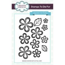 Camellia set of 11 pre-cut stamps